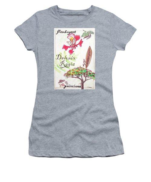 The Flamboyant Tree Women's T-Shirt
