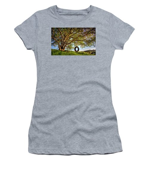 The Old Tire Swing Women's T-Shirt