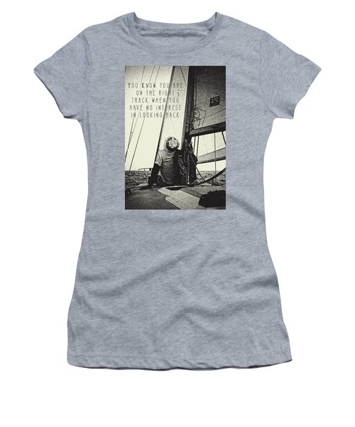 The Right Track Women's T-Shirt