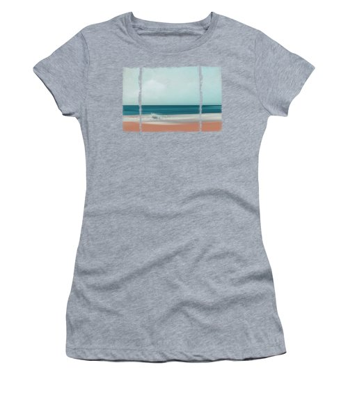 The Sea Says - Abstract Seascape Women's T-Shirt