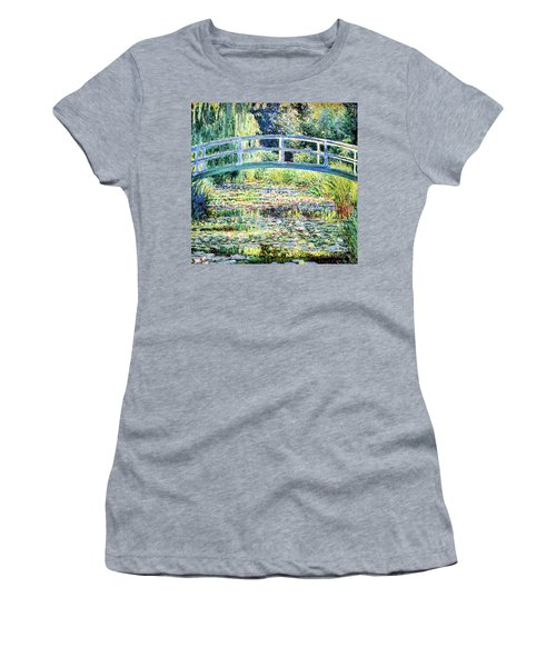 The Water Lily Pond By Monet Women's T-Shirt