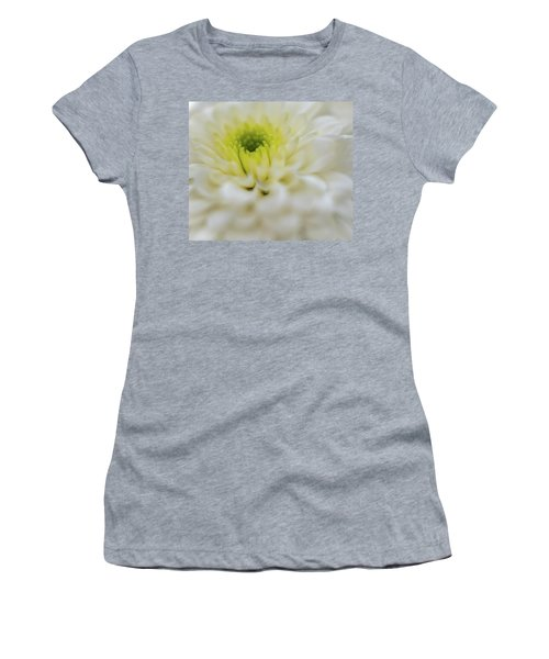 Women's T-Shirt featuring the photograph The White Flower by Francisco Gomez