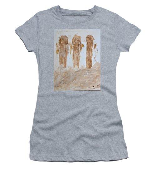 Three Little Muddy Angels Women's T-Shirt