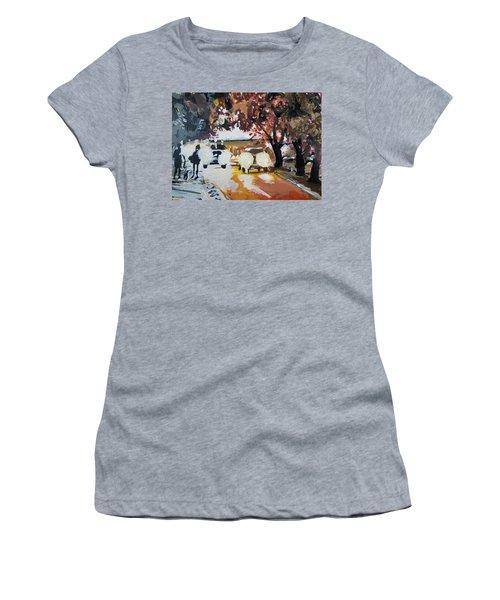 Early Morning Walk Women's T-Shirt