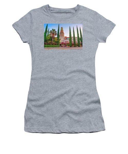 Tower Cafe Sunset- Women's T-Shirt