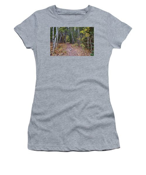 Women's T-Shirt (Athletic Fit) featuring the photograph Trailhead by James BO Insogna