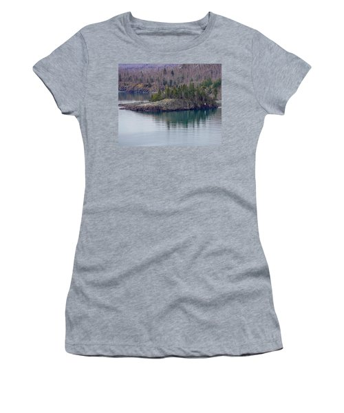 Tranquility In Silver Bay Women's T-Shirt