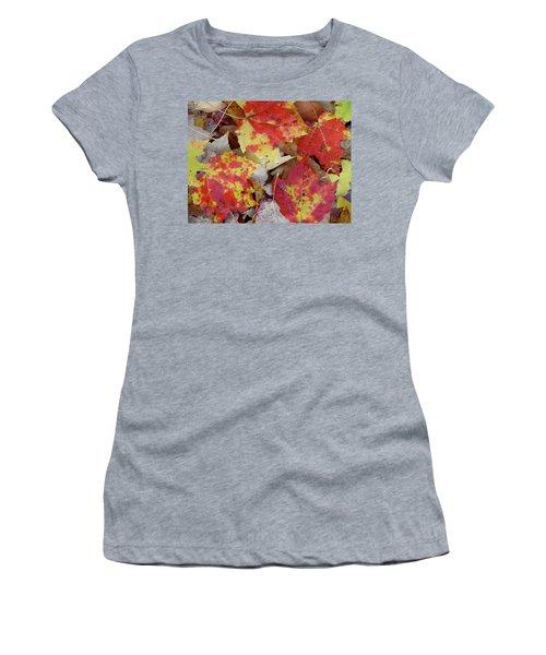 True Autumn Colors Women's T-Shirt