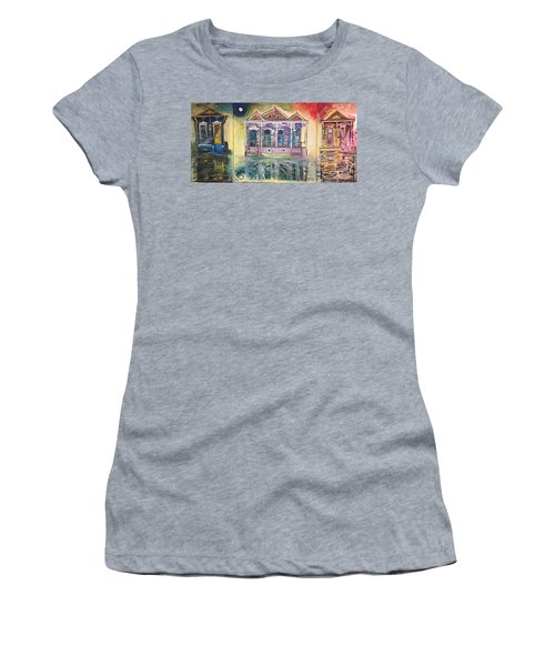 Tryptic On The Bayou New Orleans Women's T-Shirt