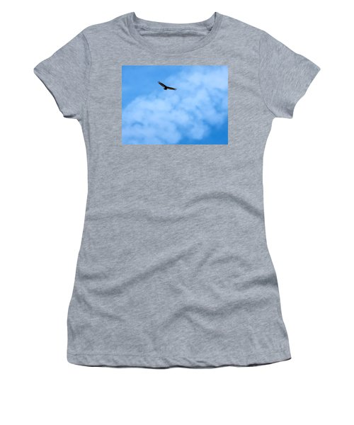 Turkey Vulture In Flight Women's T-Shirt
