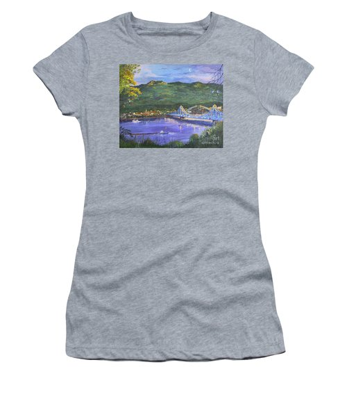 Twilight At Blue Bridges Women's T-Shirt