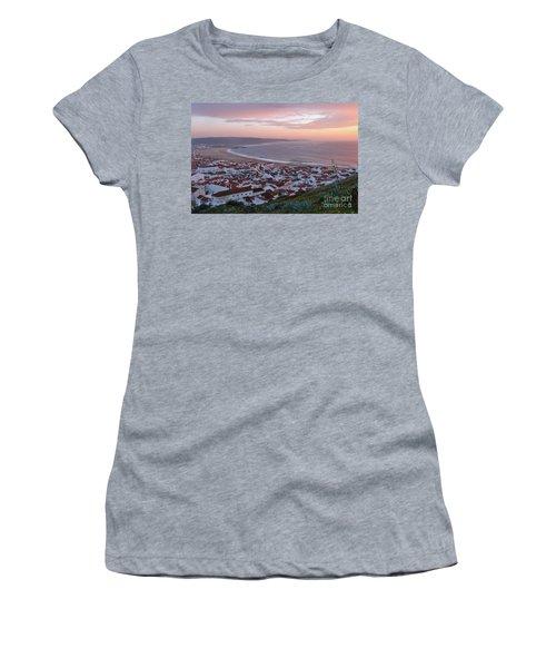 Twilight At Nazare Village Women's T-Shirt