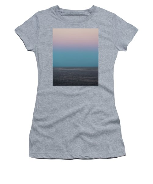 Women's T-Shirt featuring the photograph Twilight At Sea by William Dickman