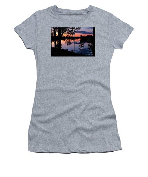 Twilight By The Lake Women's T-Shirt