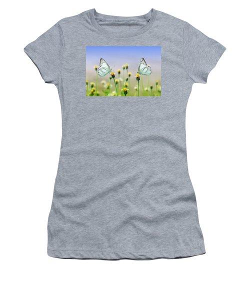 Two Butterflies Women's T-Shirt