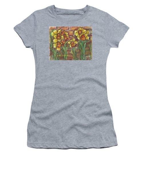 Two Toned Daffodils Women's T-Shirt