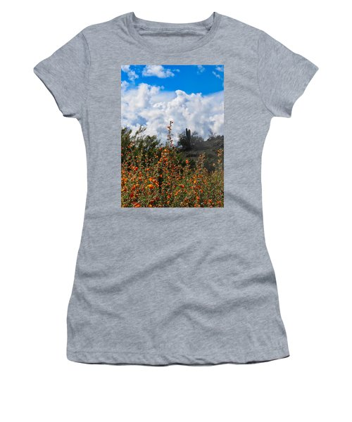 Under  A White Fluffy Cloud Women's T-Shirt