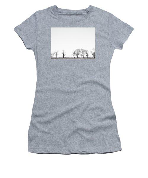 Under A Winter Sky Women's T-Shirt
