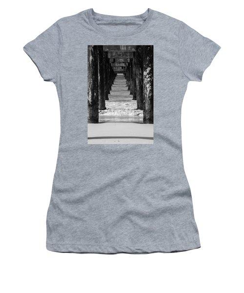 Under The Pier #2 Bw Women's T-Shirt