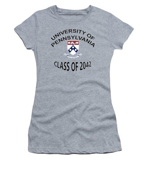 University Of Pennsylvania Class Of 2042 Women's T-Shirt