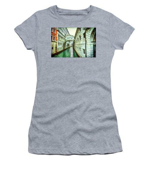 Venice Bridge Of Sighs Women's T-Shirt