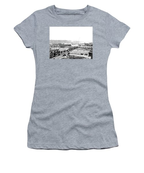 View Nw Over Olympia From Elks Building On Capitol Way 1929 Women's T-Shirt