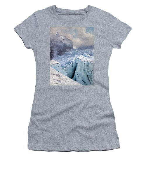View Of Mont Blanc,1896 Women's T-Shirt