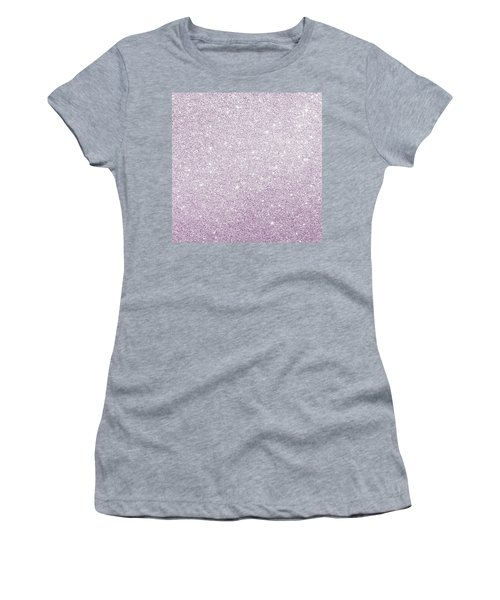 Violet Glitter Women's T-Shirt