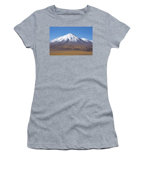 Volcano On The Altiplano Women's T-Shirt