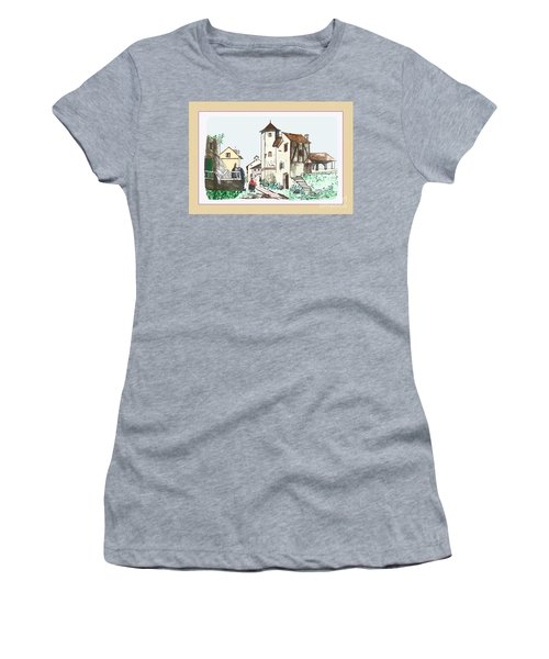Walk Through Town Women's T-Shirt