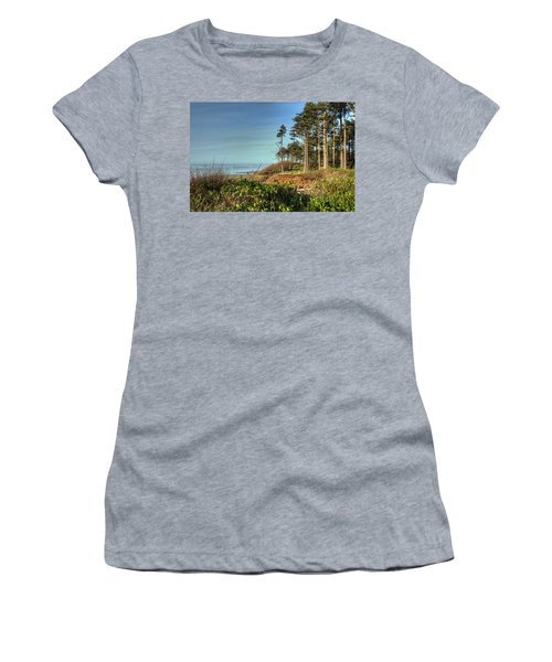 Walking Into Picture Women's T-Shirt