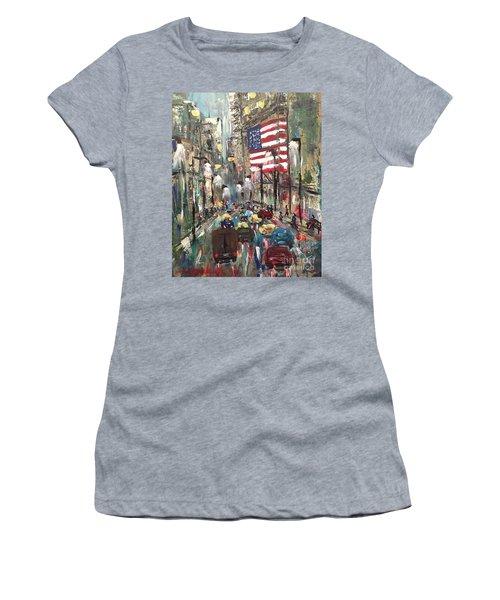 wall street NY Women's T-Shirt