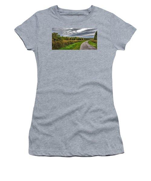 Walnut Woods Pathway - 2 Women's T-Shirt
