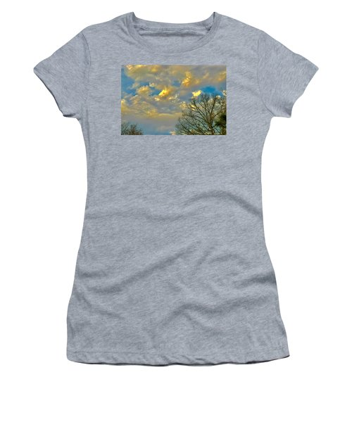 Warm And Cool Sky Women's T-Shirt
