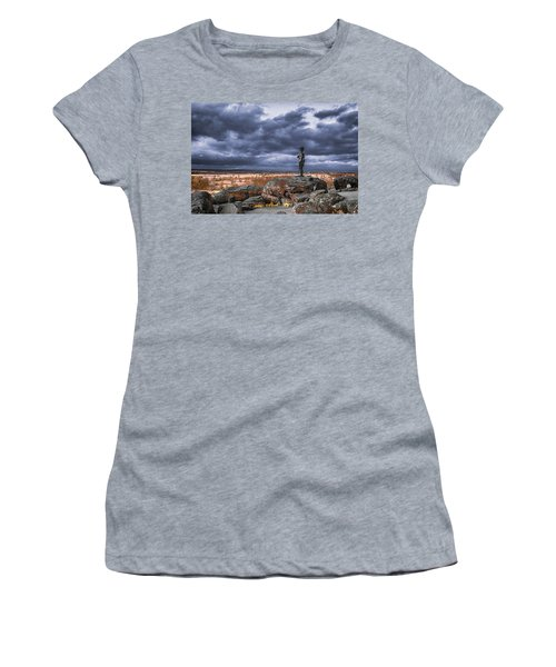Warren In Infrared Women's T-Shirt