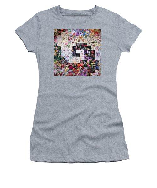Watercolor Swirl Women's T-Shirt