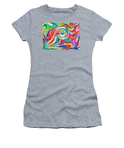 Watercolor's Swirl Women's T-Shirt