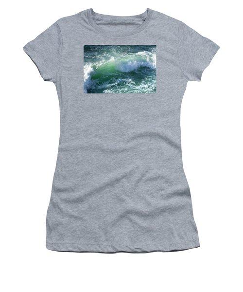 Wave At Montana De Oro Women's T-Shirt