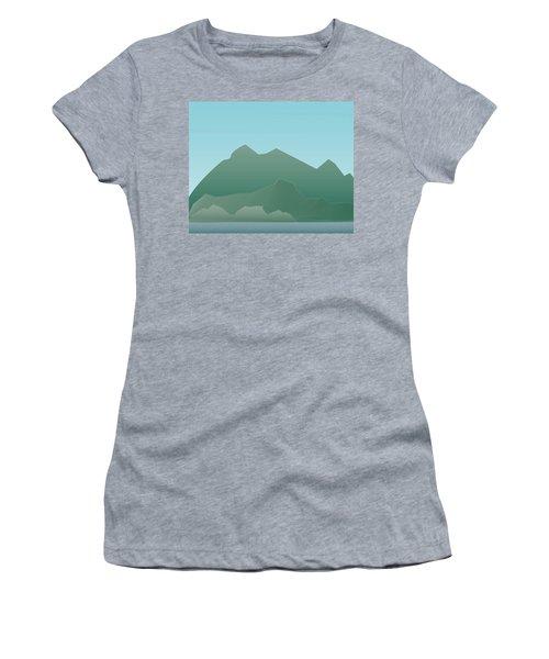Wave Mountain Women's T-Shirt