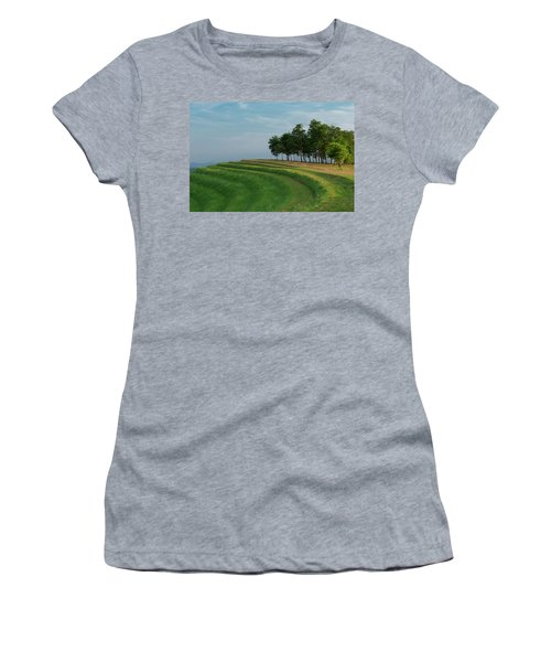 Waves Of Grass Women's T-Shirt