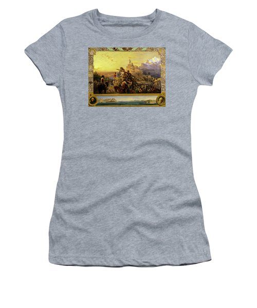 Westward The Course Of Empire Takes Its Way, 1861 Women's T-Shirt