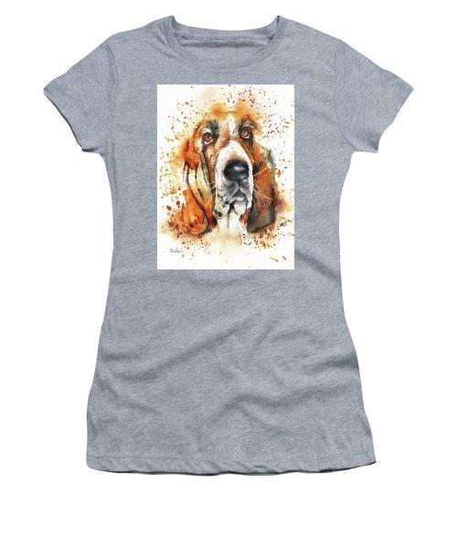 Wet Basset Women's T-Shirt