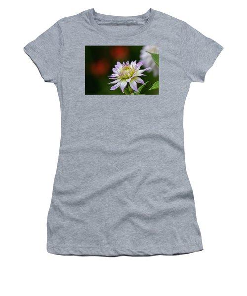Wet Petals Dahlia Women's T-Shirt