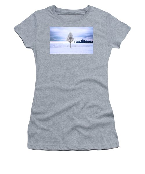 Women's T-Shirt featuring the photograph White Dream by Milena Ilieva