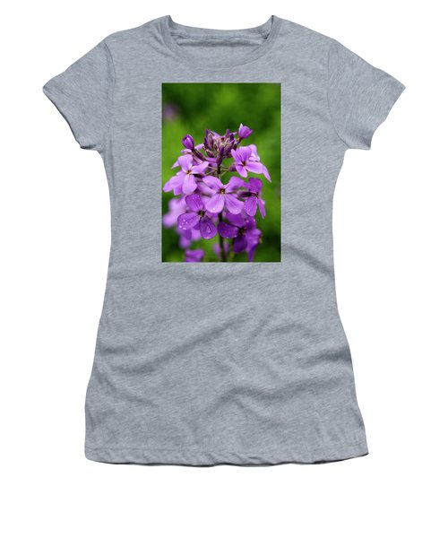 Wild Flowers In The Forest Women's T-Shirt