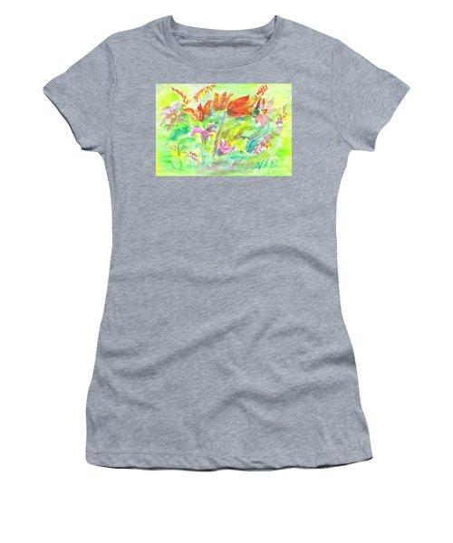 Wild Flowers In The Sunny Meadow Women's T-Shirt