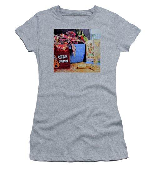 Wine With Honesty Women's T-Shirt