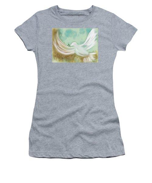 Wings Of Peace Women's T-Shirt
