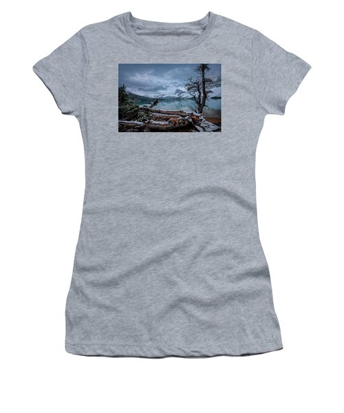 Winter Is Coming Bow Lake Women's T-Shirt