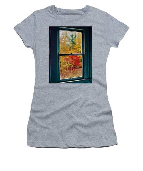 Winter Window Women's T-Shirt